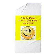 actor Beach Towel