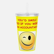 accountant Acrylic Double-wall Tumbler