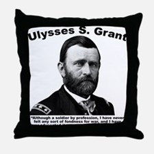 Grant: Peace Throw Pillow