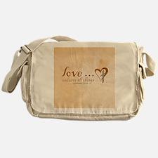 Love Endures Messenger Bag