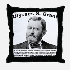 Grant: Freedom Throw Pillow