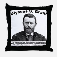 Grant: Education Throw Pillow