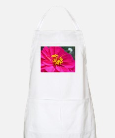 Pink Zinnia California Giant Flower Apron