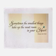 Special Thought for a Baby or a Pet Throw Blanket