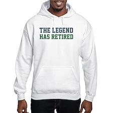 The Legend Has Retired Jumper Hoody