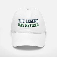 The Legend Has Retired Baseball Baseball Cap