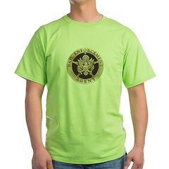 Bail Enforcement Agent Green T-Shirt