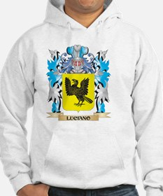 Luciano Coat of Arms - Family Cr Hoodie