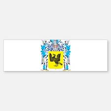 Luciano Coat of Arms - Family Crest Bumper Bumper Bumper Sticker