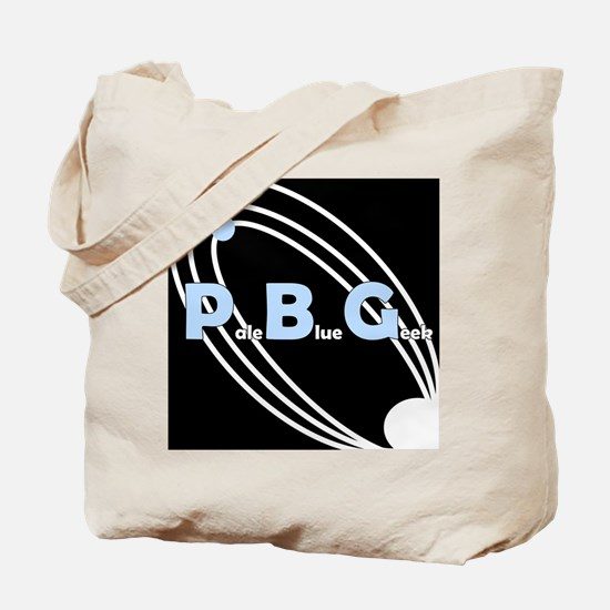 PaleBlueGeek square logo Tote Bag