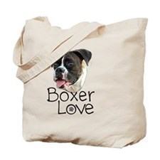 Boxer Love Tote Bag