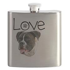 Love Boxer Flask