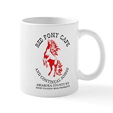 Red Pony Cafe Mugs