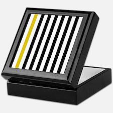 A Stripe of Yellow Keepsake Box