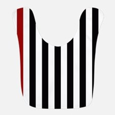 With A Red Stripe Bib
