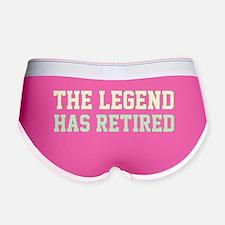 The Legend Has Retired Women's Boy Brief