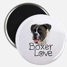 Boxer Love Magnets