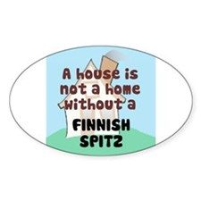 Spitz Home Oval Decal