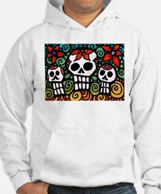 Day of the Dead Floral Sugar Skulls Sweatshirt