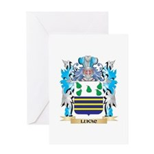 Lukac Coat of Arms - Family Crest Greeting Cards