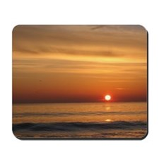Glorious Jersey Shore Sunrise Mousepad
