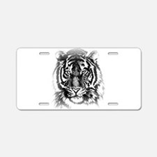 TIGER ART BY BRANDA BLAKLEY Aluminum License Plate