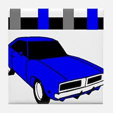1969 Dodge Challenger Tile Coaster