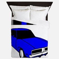 1969 Dodge Challenger Queen Duvet