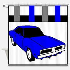 1969 Dodge Challenger Shower Curtain