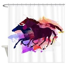Cute Horse lover Shower Curtain