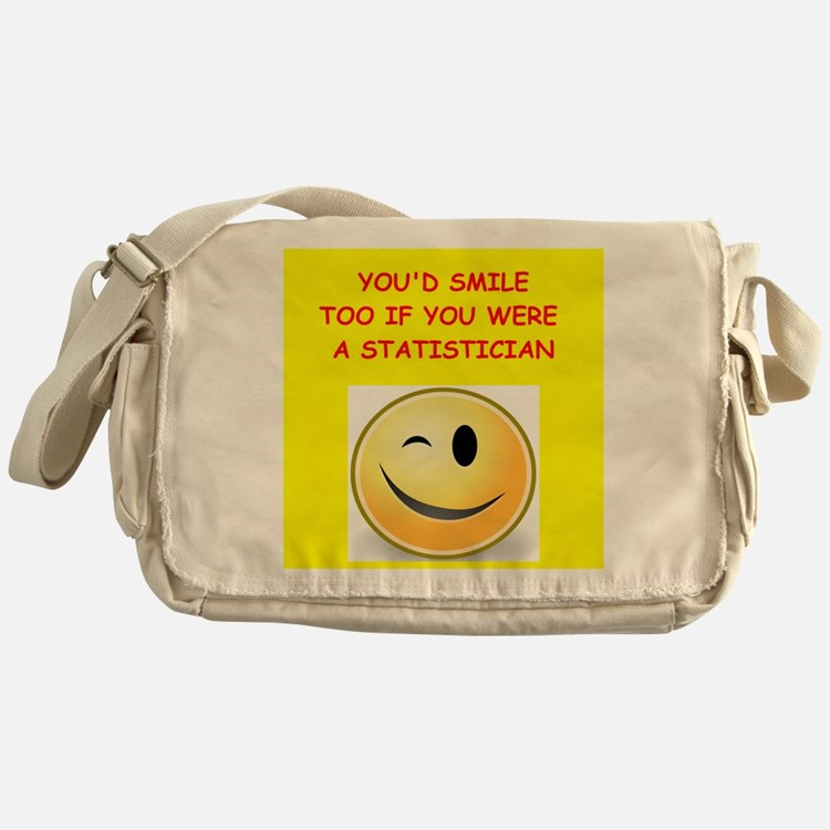 statistics Messenger Bag