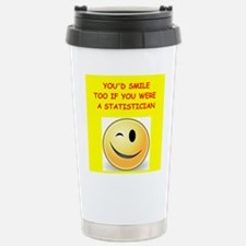 statistics Travel Mug