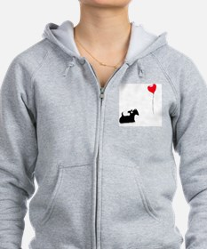Scottie Dog Zip Hoodie