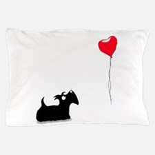 Scottie Dog Pillow Case