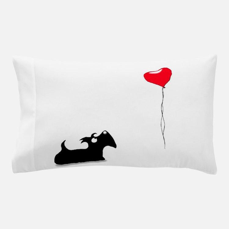 Scottie Dog Pillow Case