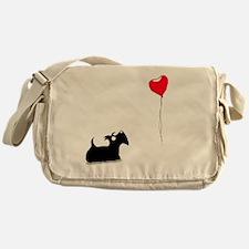 Scottie Dog Messenger Bag