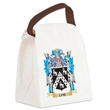 Lyne Coat of Arms - Family Crest Canvas Lunch Bag