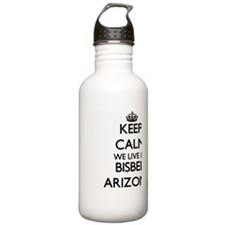 Keep calm we live in B Water Bottle