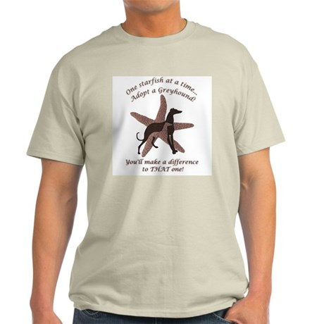 Greyhound Starfish Story Ash Grey T-Shirt