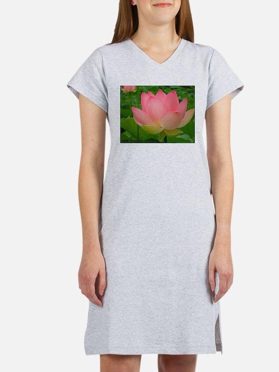 Sacred Lotus Flower Women's Nightshirt