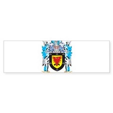 Macalister Coat of Arms - Family Cr Bumper Bumper Sticker