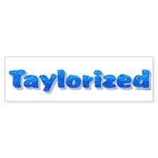 Funky Taylorized Bumper Bumper Sticker