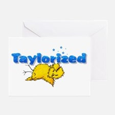 Taylorized Chick Thud Greeting Cards (Package of