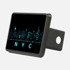 Digital Cityscape: New Yor Hitch Cover