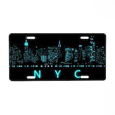 New York City: Digital Aluminum License Plate