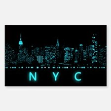Digital Cityscape: New York Ci Decal