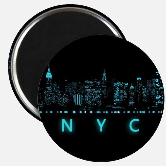 Digital Cityscape: New York City, New York Magnet