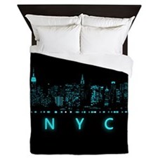 New York City: Digital Queen Duvet