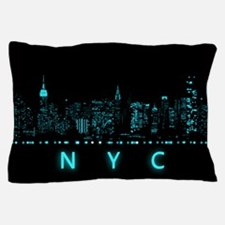 Digital Cityscape: New York City, New Pillow Case