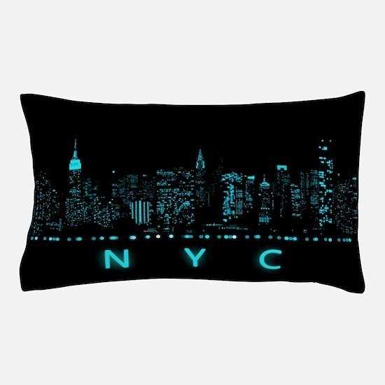 Digital Cityscape: New York City, New Pillow Case